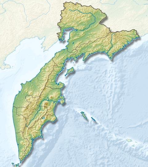 Карта туров и экскурсий на Камчатки - туры и экскурсии на Камчатке