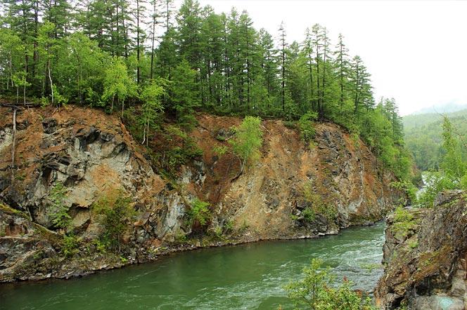 Река Быстрая - Камчатка - туры и экскурсии на Камчатке
