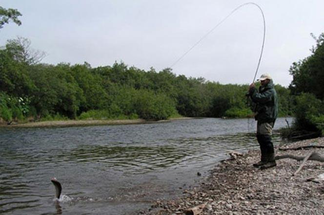 Рыбалка на Камчатке - река Большая - туры и экскурсии на Камчатке