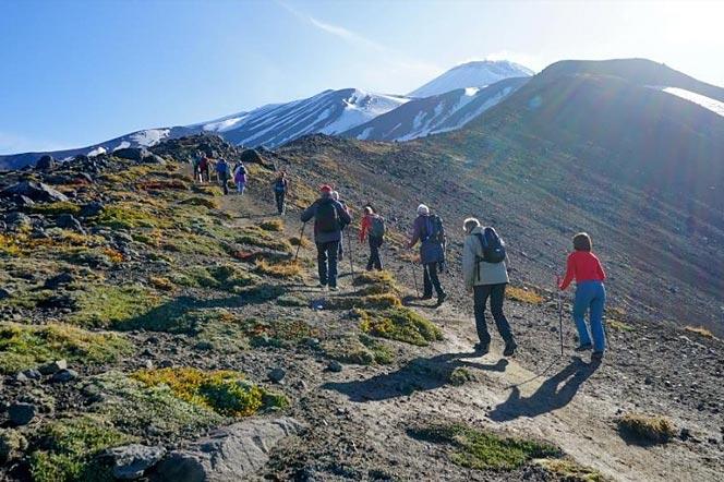 Восхождение на вулкан Авачинский на Камчатке - туры и экскурсии на Камчатке