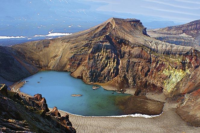 Вулкан Горелый- Кратер - Тру с восхождением - туры и экскурсии по Камчатке