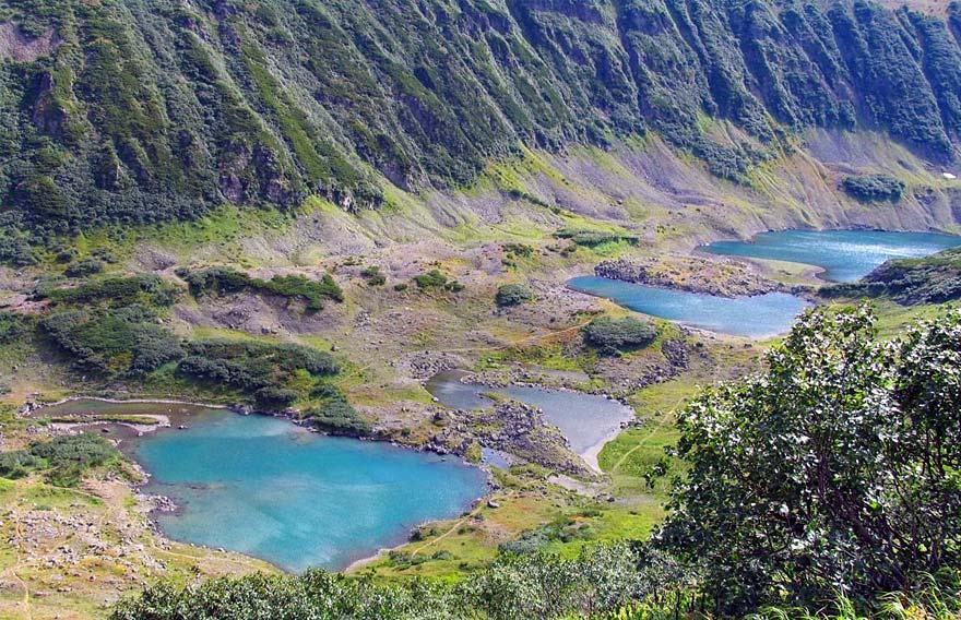 Голубые озера на Камчатке - туры и экскурсии по Камчатке