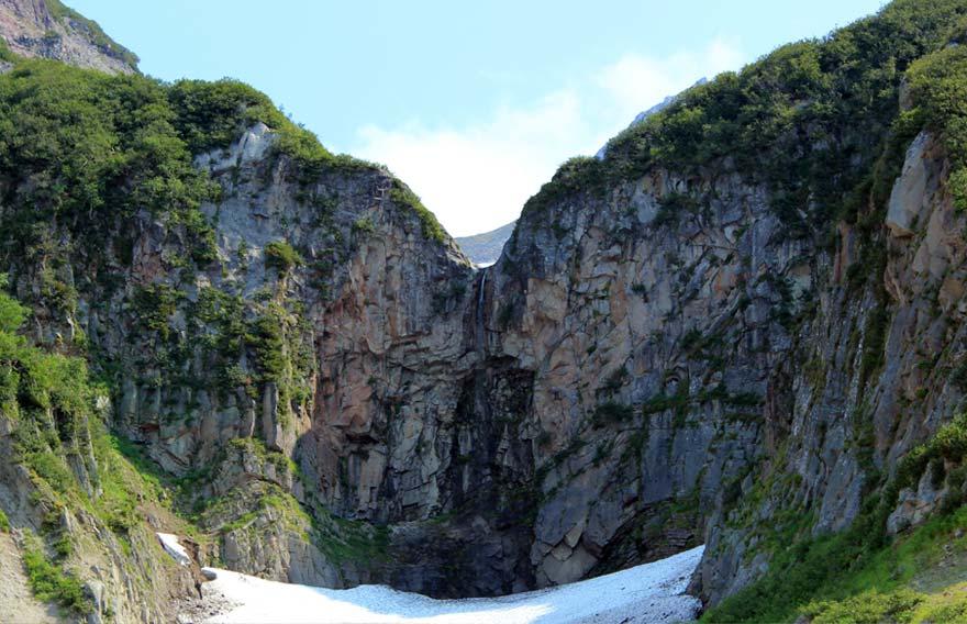 Водопад Вилючинский - туры и экскурсии на Камчатке