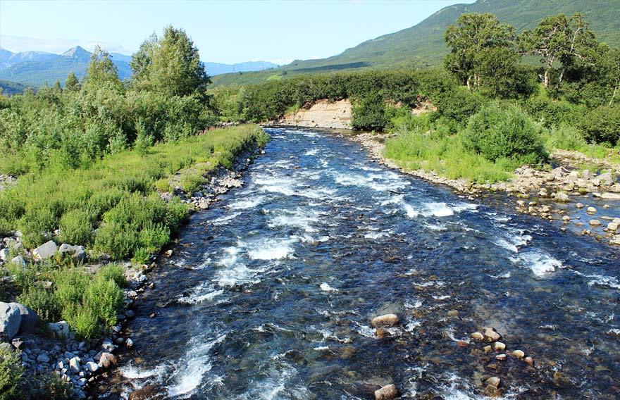 Река Паратунка - туры и экскурсии на Камчатке