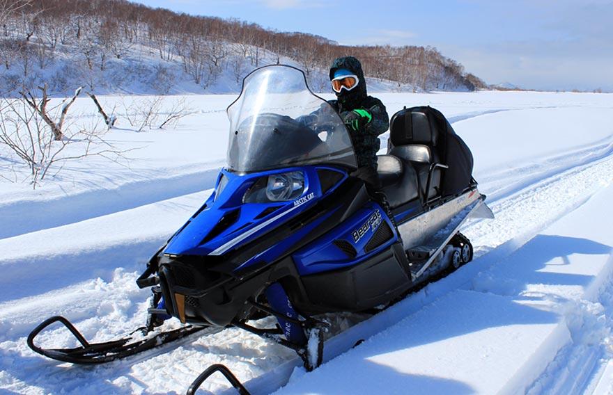 Снегоходы на Камчатке - туры и экскурсии на Камчатке