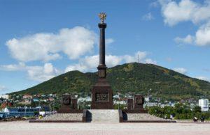 Памятник городу воинской славы Петропавловску-Камчатскому - туры и экскурсии на Камчатке