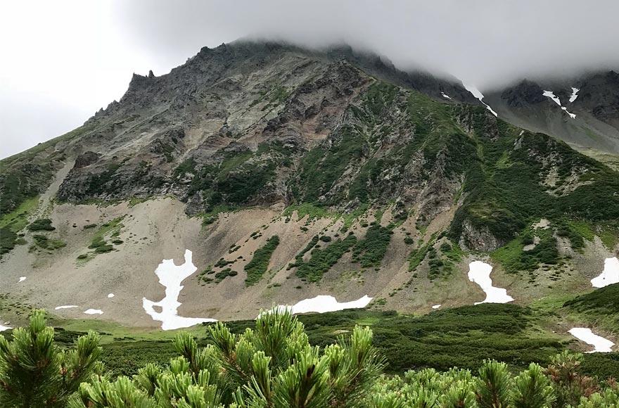 Гора Летняя на вулкане Вачкажец - туры и экскурсии на Камчатке