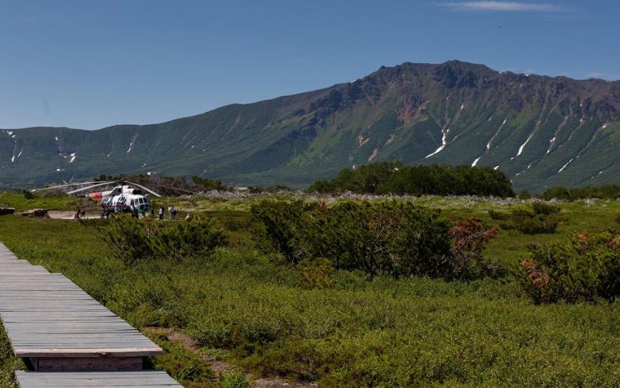 Кальдера вулкана Узон на Камчатке - туры и экскурсии на Камчатке