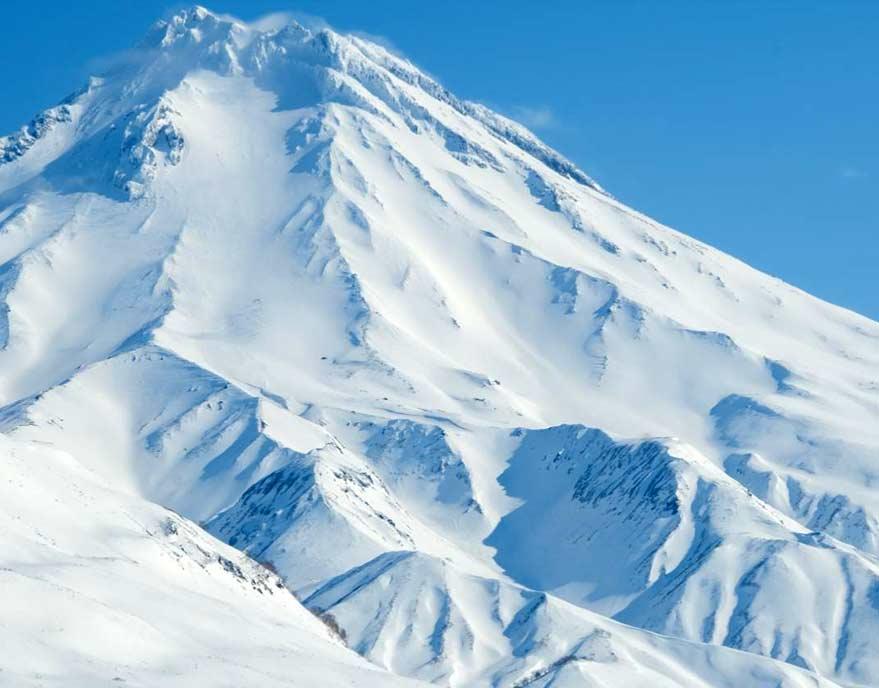Вилючинский вулкан на снегоходе - туры и экскурсии на Камчатке