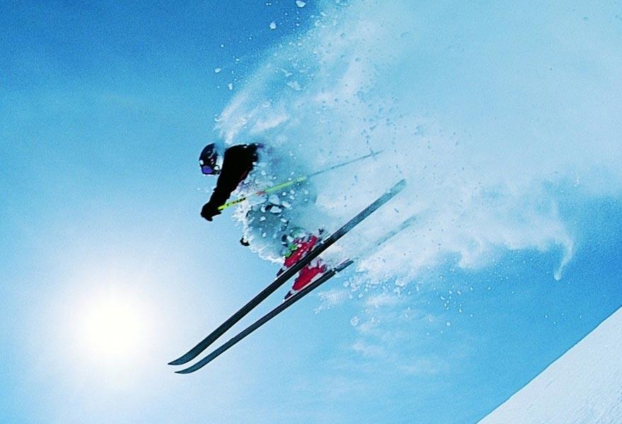 На лыжах с вулканов на Камчатке - туры и экскурсии на Камчатку