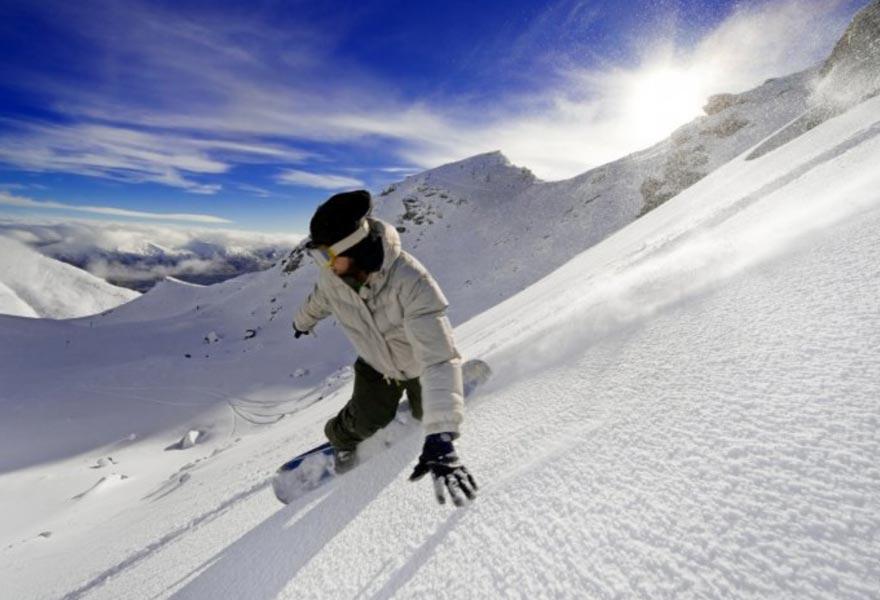 На сноуборде с вулканов на Камчатке - туры и экскурсии на Камчатку
