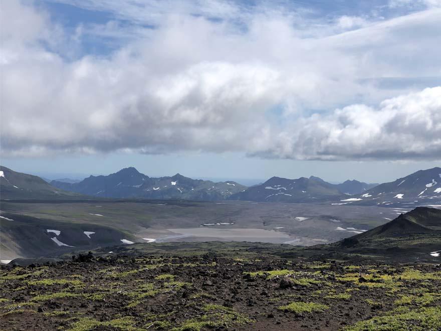 Пепловые поля вулкана Горелый - восхождения, туры и экскурсии на Камчатке
