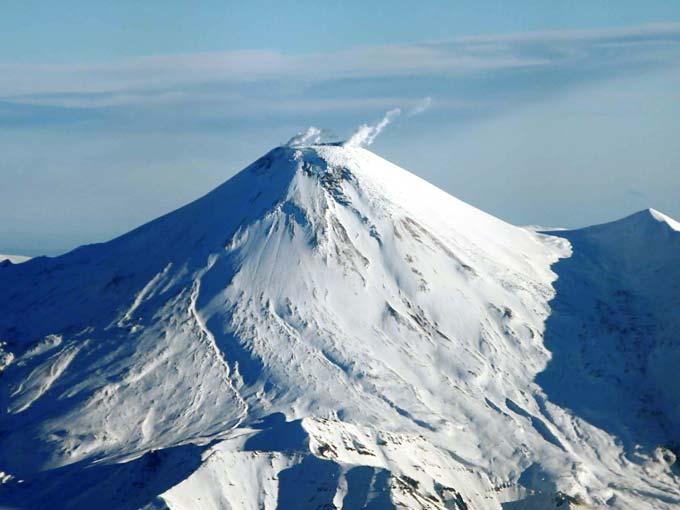 Авачинский вулкан - Зима - туры и экскурсии на Камчатке