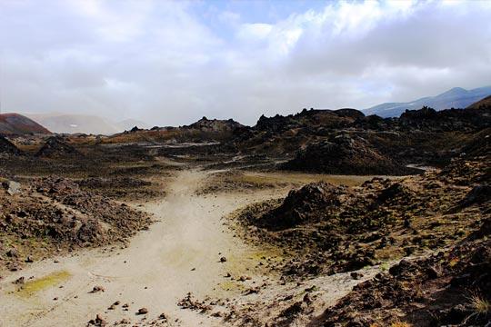 Кальдера вулкана Горелый - туры и экскурсии на Камчатке