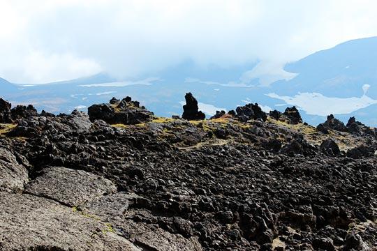 Черные склоны вулкана Горелый - туры и экскурсии на Камчатке