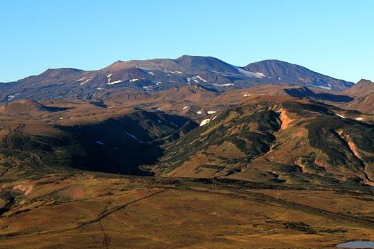 Вулкан Горелый - Камчатка - туры и экскурсии на Камчатку